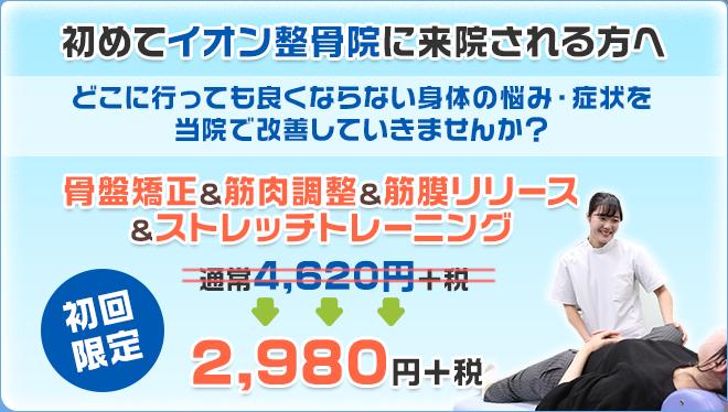 初回限定割引2,980円(税別)